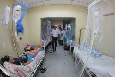 Hospitales están abastecidos con insumos y medicamentos para los pacientes febriles