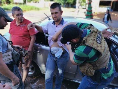 Paraguayo y boliviano detenidos con más de un kilo de cocaína