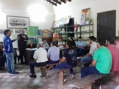 Se realiza reunión con SENACSA y faenadores de carne vacuna en Atyrá