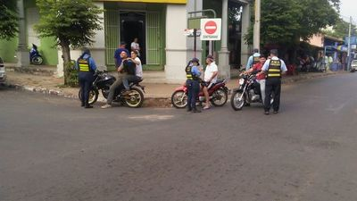 Policia Municipal de Tránsito recibe apoyo logistico