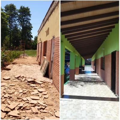 Inauguran nueva infraestructura en la Escuela Santa Lucía de Itacurubí