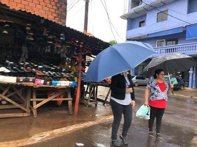 Domingo caluroso y húmedo con tormentas en el sur del país
