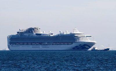 Registran 70 casos más de coronavirus en el crucero en cuarentena en Japón