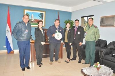 Altos Estudios Estratégicos visitó la Municipalidad de Piribebuy