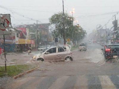 Anuncian tormentas en el sur del país