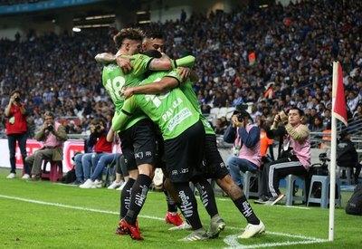Con gol de un ex Olimpia, Juárez empató con Monterrey