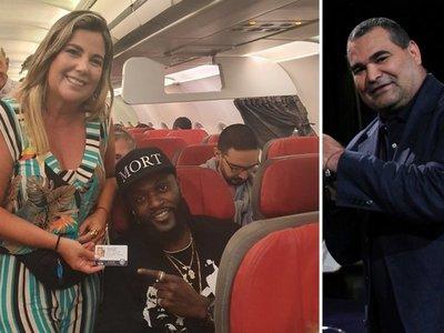 Chilavert le bajó la caña a  Bibi  por sacarse fotos con  Adebayor