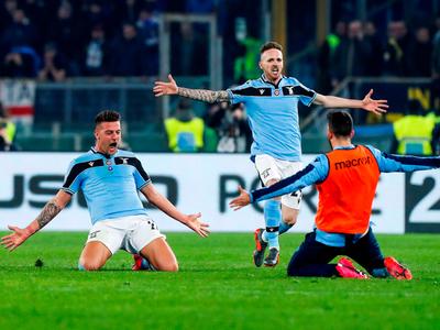 Lazio desplaza al Inter a la tercera ubicación