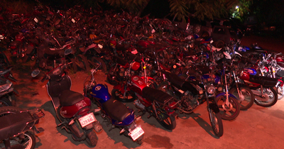 Cerca de 100 motocicletas fueron sacadas de circulación en San Antonio