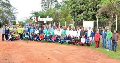 Realizan Caminata Ecológica en Piribebuy