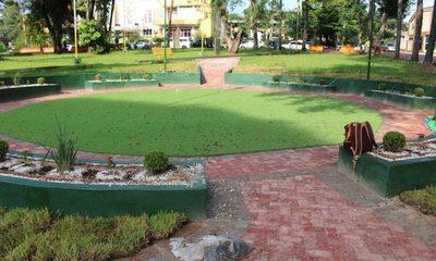 Parque inclusivo estaría listo esta semana