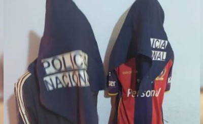 Jóvenes detenidos por hurto a Hogar Las Tías