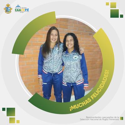 Caacupeñas son parte de la Selección Nacional de Rugby Femenino y viajarán a Chile