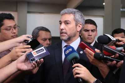 """Mario Abdo: """"Petta goza de mi confianza"""""""