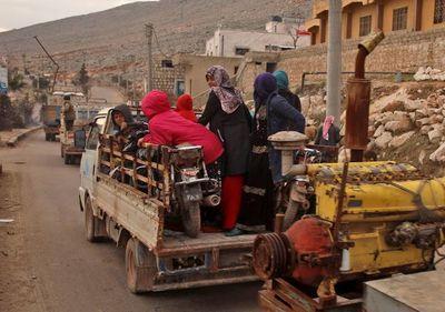 Violencia en noroeste de Siria deja 900.000 desplazados desde diciembre