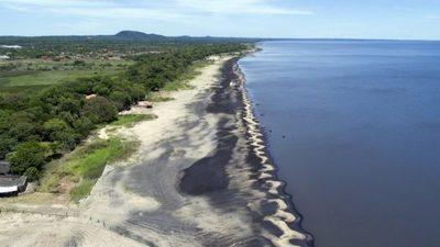 Con geobolsas buscarán retener salvar al lago Ypacaraí