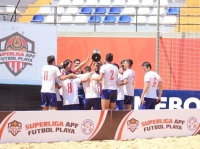 Futbol de Playa: Presidente Hayes, el mejor de la primera etapa