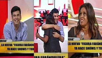 """Ña Morena cumplió su sueño en """"TeleShow"""""""