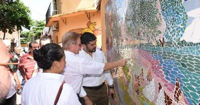 Mejoras en Chacarita Alta terminarán en un mes