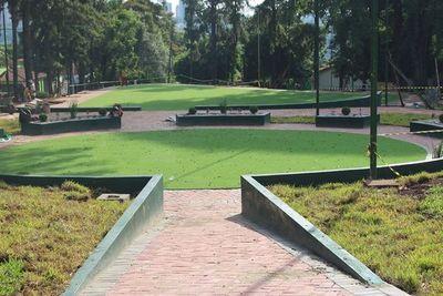 Obras del mayor parque inclusivo del Alto Paraná, a punto de finalizar