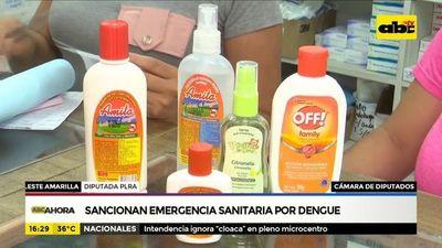 Sancionan emergencia sanitaria por dengue