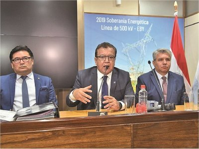 Nicanor reconoce  uso de EBY para atender al clientelismo político