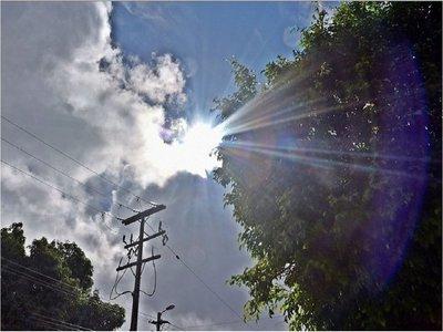 Martes muy caluroso y con ocasionales tormentas eléctricas
