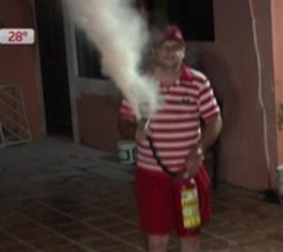 Falla en aire acondicionado provoca incendio en casa de Asunción
