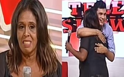 """Ña Morena anhelaba conocer a Sebas Rodríguez: """"Se cumplió uno de mis sueños"""""""