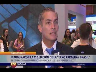 """INAUGURARON LA 11ª EDICIÓN DE LA """"EXPO PARAGUAY BRASIL"""""""