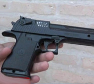 Ladrón asaltaba con un arma de juguete