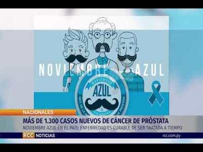 NOVIEMBRE AZUL:MÁS DE 1.300 CASOS NUEVOS DE CÁNCER DE PRÓSTATA