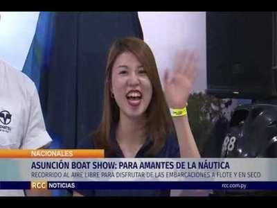 ASUNCIÓN BOAT SHOW: ATRACTIVO PARA AMANTES DE LA NÁUTICA