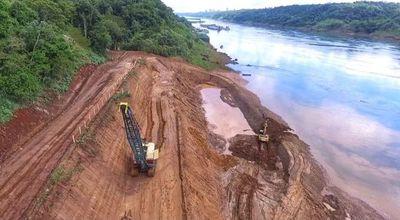 Casi 10% de avance en obra del nuevo puente con Brasil