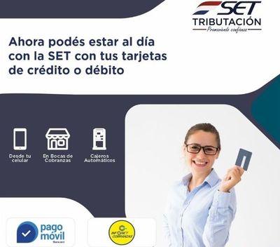 SET ofrece nueva facilidad para el pago de los impuestos