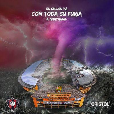 La temperatura sube en la previa de Cerro Porteño contra Barcelona de Guayaquil