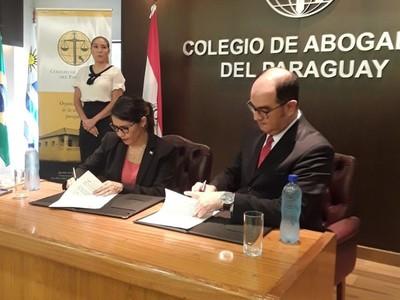 Firman convenio para que ciudadanos de zonas vulnerables puedan recibir asistencia legal gratuita