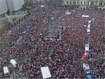 Multitud pide justicia por Fernando Báez Sosa en Argentina