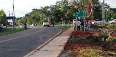 Nuevos tramos asfaltados facilitan interconexión de ruta en Itá