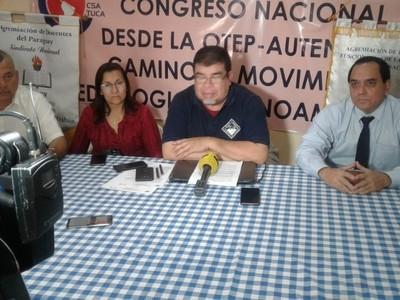 Petta podrá ser honesto, pero no es capaz para estar al frente del MEC, según dirigente sindical