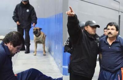 Contra la pared y esposado: revelan imágenes inéditas de la última captura del 'Chapo' Guzmán
