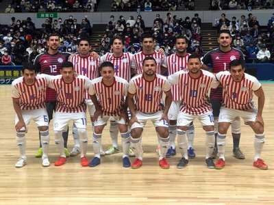 Paraguay vence a Japón en amistoso de futsal