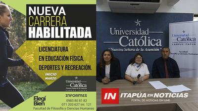 UCI PRESENTÓ LA CARRERA DE LIC. EN EDUCACIÓN FÍSICA, DEPORTES Y RECREACIÓN