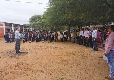 Inauguran comedor para escuela indígena de Neuland