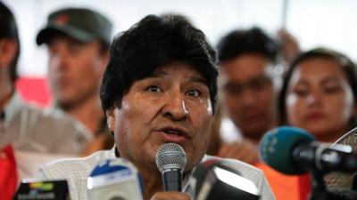 Tribunal Electoral de Bolivia inhabilitó a Evo Morales y no podrá ser candidato a senador