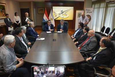 Senad y la EBY cooperarán en lucha contra el narcotráfico y crimen organizado