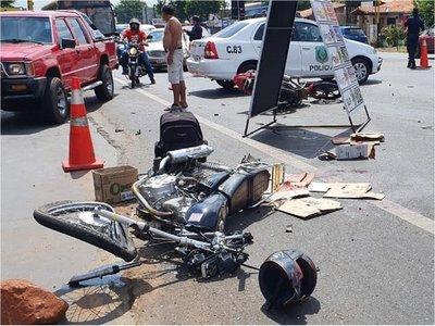 Choque entre dos motocicletas deja un muerto y un herido en Capiatá