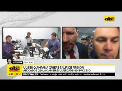 Ojerechasáma recurso omosãso haguã Ulises Quintana ka'irãigui