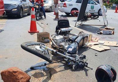 Choque  de biciclos  en Capiatá deja un fallecido
