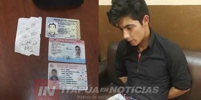 MA. AUXILIADORA: DETENIDO  TENÍA ORDEN DE CAPTURA Y UN ROSARIO DE ANTECEDENTES
